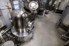 Materiaal voor de distillatie van alcohol royalty-vrije stock fotografie