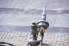 Materiaal voor watervoorziening aan de fontein royalty-vrije stock fotografie