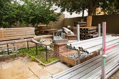 Materiais de construção Fotografia de Stock Royalty Free
