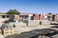 Materiais de construção Fotos de Stock Royalty Free