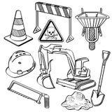 Materiais de construção ilustração royalty free
