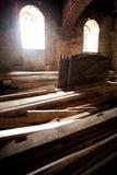 Materiais de construção de madeira Imagem de Stock