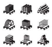 Materiais de construção do metal Fotos de Stock