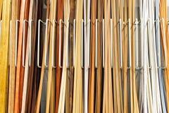 Materiais de madeira fotografia de stock royalty free