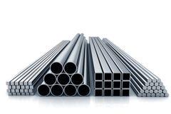 Materiais do metal Imagem de Stock