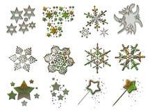 Material 3 do Natal ilustração stock