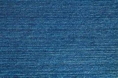 Material azul del dril de algodón Imagenes de archivo