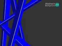 Material azul transversal branco do fundo abstrato Fotos de Stock