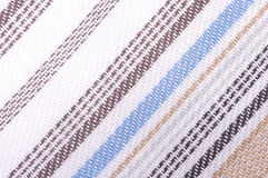 Material background. Knitted fabric material detail, colorful, close up Stock Image
