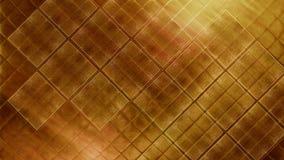 Material brillante de la loza de barro del mosaico de la teja brillante contemporánea del oro Textura de las baldosas cerámicas f Fotos de archivo