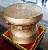 Material bronze drums in vietnames Royalty Free Stock Photography