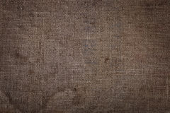 Material burlap texture abstraction. Stock Images