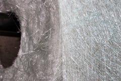 Material composto do rolo da tela da fibra de vidro Fotos de Stock