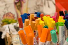 Material for crafts. And art paintings Stock Photography