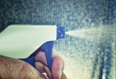 Material da limpeza Imagem de Stock