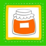 Material de alimento Imagem de Stock