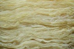 Material de base del aislante de la lana de vidrio imagen de archivo libre de regalías