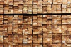 Material de construção de madeira da madeira para o fundo e a textura Imagens de Stock