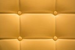 Material de cuero del sofá de la piel Foto de archivo libre de regalías