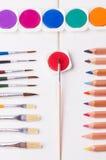 Material de desenhos Foto de Stock