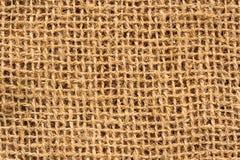 material de la arpillera Imagen de archivo libre de regalías