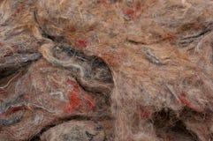 Material de la guata de la tapicería Fotos de archivo libres de regalías