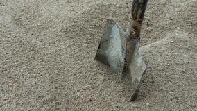 Material de la pala y de la arena Imagen de archivo libre de regalías