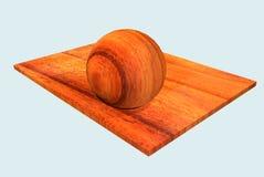 Material de madeira Fotografia de Stock