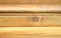 Material de madeira para a construção Fotos de Stock Royalty Free