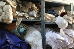 Material de matérias têxteis Imagem de Stock Royalty Free