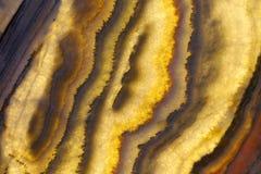 Material de piedra natural superior del marrón oscuro con los modelos maravillosos fotos de archivo