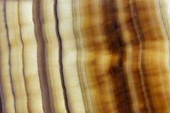 Material de piedra natural superior marrón estratificado imagen de archivo libre de regalías