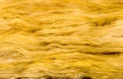 Material del aislante de las lanas de cristal Imagen de archivo