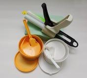 Material dental da impressão. Fotografia de Stock