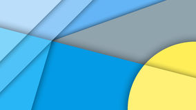 Material design, abstract background with different levels surfaces and circles. Abstract background with different levels surfaces and circles, material design Stock Image