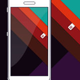 Material Design. Angle Stripes Royalty Free Stock Photos