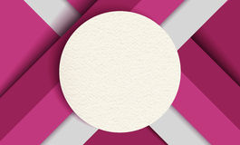 Material design background, colorful paper shapes. Material design abstract background template, paper texture circle badge with colorful geometric shapes. EPS10 Royalty Free Stock Photography