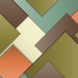 Material design background. Stack of random rectangles hovering in space on a flat surface. Abstract background in the paradigm of material design. Perfect Royalty Free Stock Photo