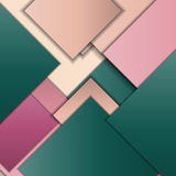 Material design background. Stack of random rectangles hovering in space on a flat surface. Abstract background in the paradigm of material design. Perfect Vector Illustration