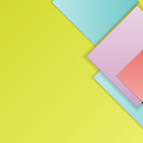 Material design background. Stack of random rectangles hovering in space on a flat surface. Abstract background in the paradigm of material design. Perfect Stock Photography