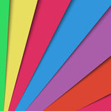 Material design colorful background. Material design background - colorful angled layers of cards with shadows, vector eps 10 illustration vector illustration
