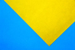 Material design on colorful papers Royalty Free Stock Images