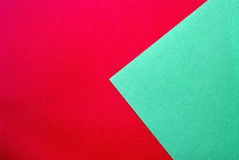 Material design on colorful papers. Material design on colorful origami papers Stock Images