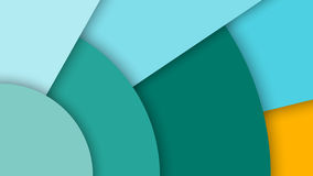 Material design, split-level flat surface, abstract background. Abstract background with different levels surfaces and circles, material design Royalty Free Stock Photos