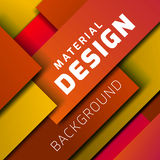 Material design vector background Royalty Free Stock Photo