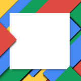 Material design vector background illustration Stock Photography