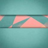 Material design wallpaper. Stock Image