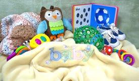 Material do bebê Imagens de Stock