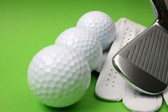 Material do golfe Imagem de Stock