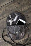 Material do saco da mulher Imagem de Stock